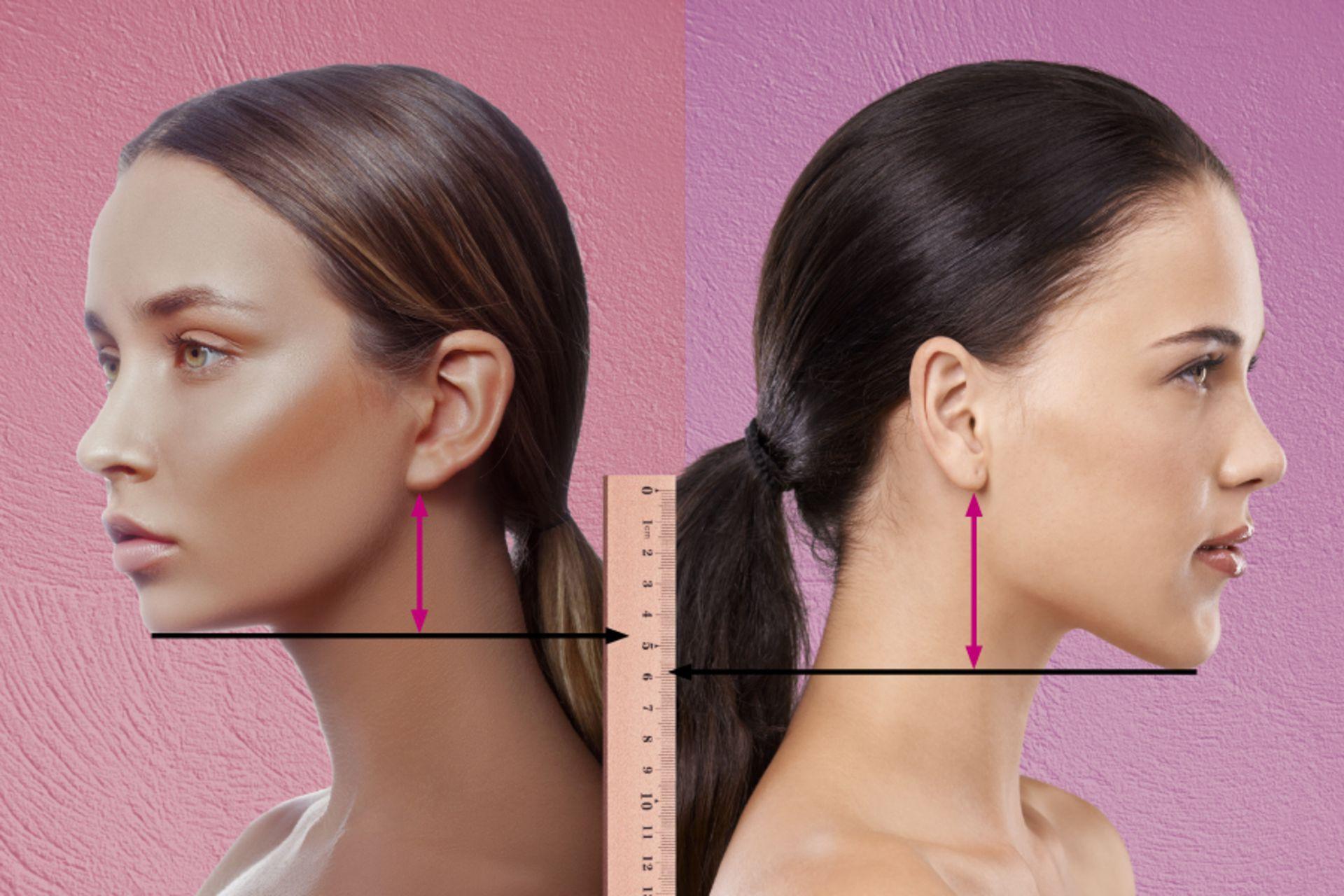Nacken lange undercut frau haare ▷ 50